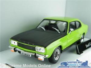 【送料無料】模型車 スポーツカー フォードカプリモデルグリーンアンプサイズスポーツクーペ