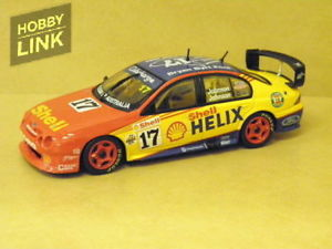 【送料無料】模型車 スポーツカー 143 shell helix racing ford auファルコンqueensland500johnsonj biante b430101l143 shell helix racing ford au falcon queensland 5