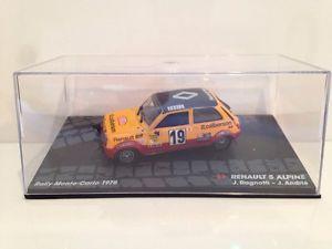 【送料無料】模型車 スポーツカー ルノーアルパインラリーモンテカルロスケールrenault 5 alpine jragnotti jandrie rally monte carlo 1978 143 scale