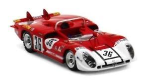 【送料無料】模型車 スポーツカー アルファロメオティポ33336 24hルマン1970ミニチュア143 tsm144312 malfa romeo tipo 333 36 24h le mans 1970 true scale miniatures 143 tsm144312