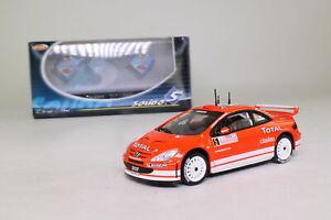 【送料無料】模型車 スポーツカー プジョーモンテカルロラリーsolido 1589; 2001 peugeot 307; wrc; 2004 rallye monte carlo 4th; excellent boxed