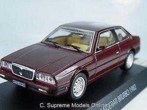 【送料無料】模型車 スポーツカー マセラティサイズモデルカードアスポーツイタリアバージョンmaserati biturbo 143rd size model car 2 door sports italian version r0154x{}