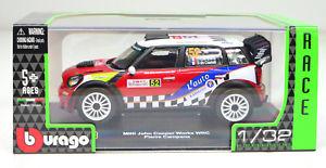 【送料無料】模型車 スポーツカー ミニジョンクーパー#ジョンカンパーナスケールmini john cooper works wrc 52 john campana scale 13 2 by bburago