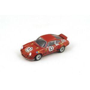 【送料無料】模型車 スポーツカー スパークポルシェカレラ#ルマンロースバルトs3398 spark 143porsche carrera rsr 63 10th 24hr le mans 1973 g loosj barth