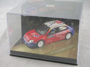 【送料無料】模型車 スポーツカー シトロエンクサラサインツメキシコラリーvitesse 43207 citroen xsara wrc c sainz m marti rally of mexico 2004