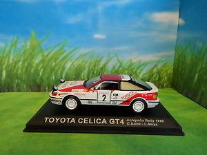 【送料無料】模型車 スポーツカー toyota celica gt4 1990acropolis rallytoyota celica gt4 1990 acropolis rally