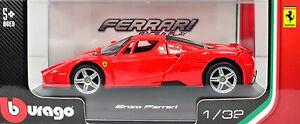 【送料無料】模型車 スポーツカー フェラーリエンツォフェラーリレッドスケールferrari enzo ferrari red scale 13 2 by bburago