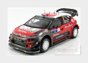 【送料無料】模型車 スポーツカー シトロエンアブダビ#ラリーメキシコcitroen c3 wrc abu dhabi 7 winner rally mexico 2017 kmeeke norev 118 nv181632