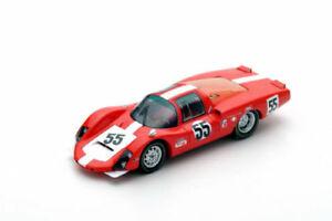 【送料無料】模型車 スポーツカー スパークポルシェ#デイトナs5421 spark143 porsche 906 lh 55 5th 24h daytona 1967 dspoerryrsteinemann