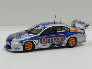 【送料無料】模型車 スポーツカー フォードハヤブサモータースポーツ143 ford ba falcon larkham motorsport mwinterbottom 2004 20 carlectables