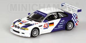【送料無料】模型車 スポーツカー モータースポーツニレハラマミュラー143 bmw m3 gtr bmw motorsport elms jarama 2001 ekblom muller