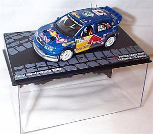 【送料無料】模型車 スポーツカー スコーダfabia wrc 2006モンテカルロgpanizzino11skoda fabia wrc 2006 monte carlo gpanizzi red bull no11  in case