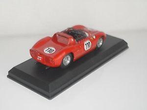 【送料無料】模型車 スポーツカー フェラーリ250p110 1963 143モデル0126タイプモデルferrari 250 p 110 1963 143 model 0126 type model