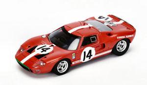 【送料無料】模型車 スポーツカー フォードgt40 n14lm1966psutcliffedspoerry 143スパークs4073モデルford gt40 n14 accident lm 1966 psutcliffedspoerry 143 spark s4073 mode