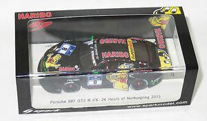 【送料無料】模型車 スポーツカー 20138nurburgringポルシェ997gt3 143 24 r haribo143 porsche 997 gt3 r haribo 24 hrs nurburgring 2013 8
