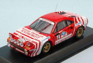 【送料無料】模型車 スポーツカー フェラーリ308 gtb gr42 winner targa florio1981andruetテベレ143モデルferrari 308 gtb gr4 2 winner targa florio 1981 andruettiber 143 m