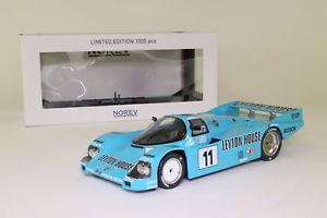 【送料無料】模型車 スポーツカー スケールポルシェルマンnorev 118 scale; porsche 962c; 1987 24h le mans 4th; rn11; excellent boxed