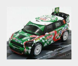 【送料無料】模型車 スポーツカー ミニジョンクーパーwrc14ラリーmontecarlo 2012 143 rmit010モダンmini countryman john cooper works wrc 14 rally montecarlo 2012 143 rmit010