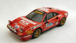 【送料無料】模型車 スポーツカー フェラーリ308 gtb3targaフロリオ1980 andruetbiche 143モデルferrari 308 gtb 3 retired targa florio 1980 andruetbiche 143 model