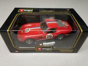 【送料無料】模型車 スポーツカー ブラーゴ118ダイカストフェラーリ250 gto 196219 3011burago 118 scale diecast ferrari 250 gto 1962 red 19 3011