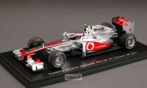 【送料無料】模型車 スポーツカー ボタン#グランプリスパークmc laren jbutton 2011 4 chinese gp 143 spark s3023