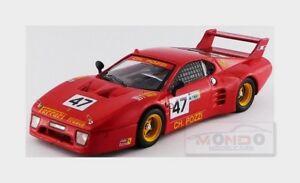 【送料無料】模型車 スポーツカー フェラーリ512bbポッツィ47ルマン1981ballot lena andruet143 be9671モデル