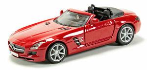【送料無料】模型車 スポーツカー メルセデスベンツsls amgbburagoモデル143mercedes benz sls amg red, bburago street fire car model 143