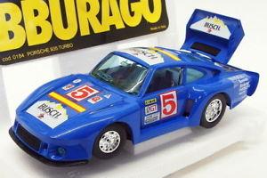 【送料無料】模型車 スポーツカー ブラーゴ124スケールモデル2518kポルシェ935ターボレーシングカー burago 124 scale model car 2518k porsche 935 turbo racing car blue