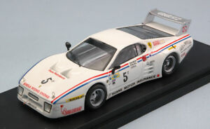 【送料無料】模型車 スポーツカー フェラーリ#リレーシルバーストーンサーモンプラスモデルferrari 512 bb lm 5 6 h relay silverstone 1981 m salmon s phillips 143 model