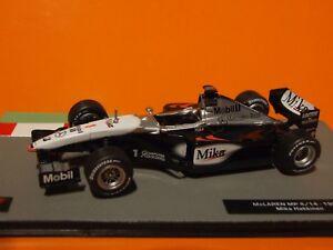 【送料無料】模型車 スポーツカー ハッキネンマクラーレンスケール1999 f1 m hakkinen mclaren mp414 143 scale