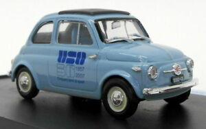【送料無料】模型車 スポーツカー スケールモデルカーフィアットbrumm 143 scale model car s0723 fiat 500d uso unione sportiva oltronese