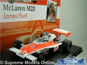 【送料無料】模型車 スポーツカー mclaren m23 formula 1racing model car james hunt143 scale 1976オンk8qmclaren m23 formula 1 racing model car james hunt 143 s