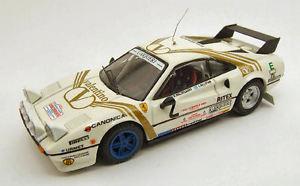 【送料無料】模型車 スポーツカー フェラーリ#ラリーモンツァモデルferrari 308 gtb 2 3rd rally monza 1984 b waldegaardc billstam 143 model