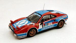 【送料無料】模型車 スポーツカー フェラーリサイズ#タルガフローリオモデルferrari 308 size 4 1 2nd targa florio 1982 andruet biche 143 model
