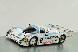 【送料無料】模型車 スポーツカー 1988ポルシェ962c8 blaupunkt 24h leジャクソンディケンズ118 norev