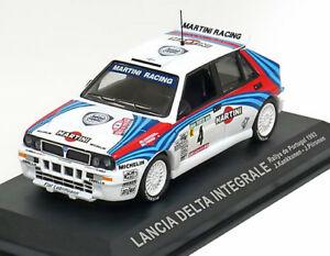 【送料無料】模型車 スポーツカー ランチアデルタユハカンクネンラリーポルトガル143 lancia delta integrale juha kankkunen rally portugal 1992