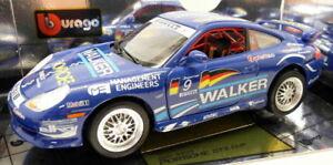 【送料無料】模型車 スポーツカー ブラーゴ118ダイカスト 3335ポルシェ911 gt3 cupburago 118 scale diecast 3335 porsche 911 gt3 cup walker