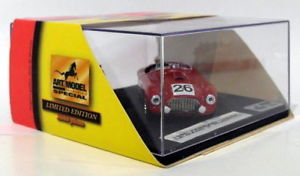 【送料無料】模型車 スポーツカー アートモデルスケールアートフェラーリルマン#art model 143 scale art903 ferrari 166 mm c le mans 1950 26 prubirosa