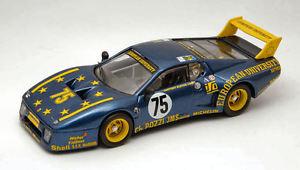 【送料無料】模型車 スポーツカー フェラーリ512 bb7540lm 1980guittenybleynie 143モデルferrari 512 bb 75 40th accident lm 1980 guittenybleynie 143 model