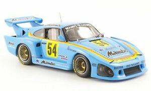 【送料無料】模型車 スポーツカー ポルシェ935k354drm1979kludwigスパーク143 sg010モデルporsche 935 k3 54 winner drm 1979 kludwig light blue spark 143 sg010 model