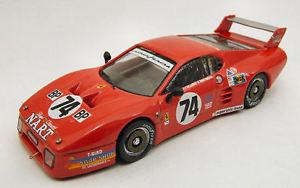 【送料無料】模型車 スポーツカー フェラーリ#ボードルマンモデルferrari 512 bb 74 dq le mans 1980 jp delaunayp henn 143 model