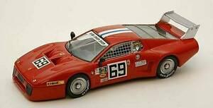 【送料無料】模型車 スポーツカー フェラーリ#デイトナモデルferrari 512 bb lm 69 36th 24 h daytona 1980 henndieudonne 143 model