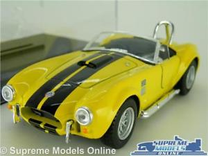 【送料無料】模型車 スポーツカー ac shelbyコブラ427model car1965132 scale yellowcase sports kinsmartk8ac shelby cobra 427 model car 1965 132 scale yellow cas