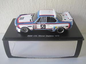 【送料無料】模型車 スポーツカー スパークレッドマンデイトナダspark143bmw csl greggredman winner daytona 1976 43da76