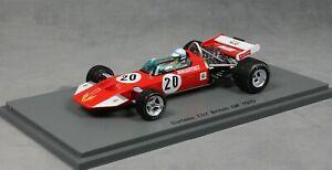 【送料無料】模型車 スポーツカー スパークサーティースグランプリジョンサーティースspark surtees ts7 british grand prix 1970 john surtees s5400 143 resin