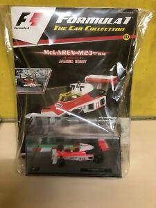 【送料無料】模型車 スポーツカー パニーニフォーミュラコレクションマクラーレンジェームスpanini formula 1 the car collection mclaren m23 james huntbn