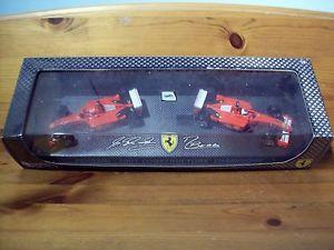 【送料無料】模型車 スポーツカー ホットホイールフェラーリシューマッハバリチェロコンストタ143 hot wheels twinset ferrari f2001 schumacherbarrichello 2001 constructors