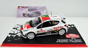 【送料無料】模型車 スポーツカー プジョーモンテカルロ#スケールpeugeot 207 s2000 rallye montecarlo 2010 9 scale 143