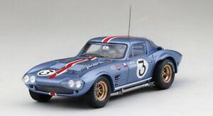【送料無料】模型車 スポーツカー シボレーコルベットグランドスポーツ#セブリングスケールchevrolet corvette grand sport 3 12h sebring 1964 true scale 143 tsm164348 mod