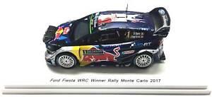 【送料無料】模型車 スポーツカー ラリーモンテカルロフォードフィエスタモデルsebastien ogier 2017 rally monte carlo ford fiesta wrc model